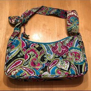 Vera Bradley Daphne Bella Paisley Shoulder Bag